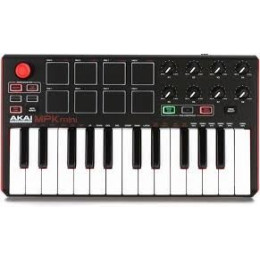 AKAI PRO MPK MINI PLAY USB - MIDI-клавиатура